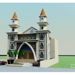 Church- Gereja St Albertus Agung-Tanjung Bunga-Makasssar